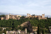 Alhambra Palace by Andrew Dunn, Granada, Andalusia, Spain